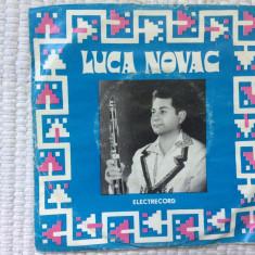 """luca novac taragot single disc 7"""" vinyl muzica populara romaneasca folclor banat"""