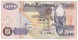 ZAMBIA 100 kwacha 2009 P-38h