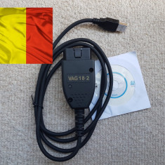 VAG COM VCDS 18.2  HEX - limba Romana + Engleza, merge cu internet pornit !