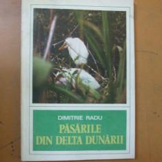 Pasarile din Delta Dunarii Dimitrie Radu Bucuresti 1979 8 planse color