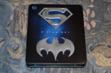 Film - Batman & Superman Anthology [9 Filme - 9 Discuri Blu-Ray] Metal Box, BLU RAY, Engleza, warner bros. pictures