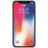 Telefon mobil Apple iPhone X, 64GB, 4G, Space Grey, Gri, Neblocat