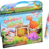 Water Magic-Carte de colorat cu apa: Lumea dinozaurilor