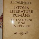 Istoria literaturii romane an 1982/1058pagini- G.Calinescu