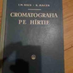 Cromatografia Pe Hirtie - I.m.hais K.macek ,539732