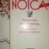 Manuscrisele de la Cimpulung 212pag/an 1997- Noica