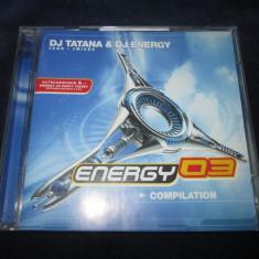 DJ Tatana & DJ Energy - Energy 03 _ cd,compilatie _ Warner , Elvetia , 2003