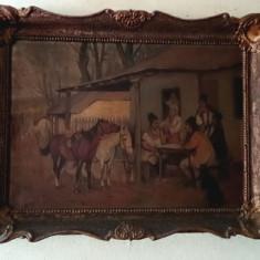 Tablou vechi-pictura in ulei -1940-Hoppe Tibor