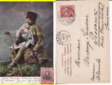 Tipuri, meserii - Cioban - clasica, 1905, Circulata, Printata