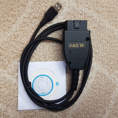 VAG COM VCDS 16.8.3  HEX VAG COM  - limba Engleza, merge cu internet pornit !