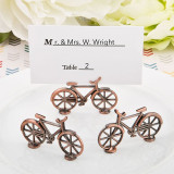 Vintage Design biciclete cupru antic titularul metal de culoare placecard...