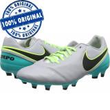 Pantofi sport Nike Tiempo Genio 2 Leather pentru barbati - adidasi originali, 44, Gri