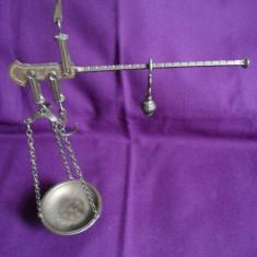 Balanta metalica cu un taler, necuratata, S1