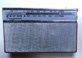 Radio vechi rar colectie anii 60 Zefir tip S631T S 631t electronica functional