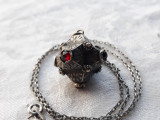 MEDALION argint TRIBAL splendid VECHI superb Manopera EXCEPTIONALA + Lant argint