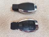 Cheie cu 3 butoane Mercedes Benz 433MHz  cu Chip NEC -  Smart Remote Key