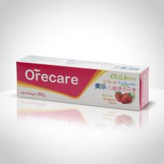 ORECARE - U Smile - Pastă de dinți pentru copii, aromă de căpșuni