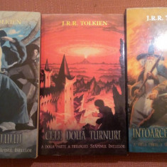 Stapanul Inelelor. 3 Volume -  J. R. R. Tolkien, Nemira