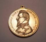 Medalie Domnitorul Alexandru Ioan Cuza 1906