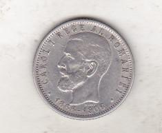 bnk mnd Romania 1 leu 1906 , argint foto