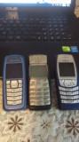 Lot 3 telefoane Nokia: 1100,3120.6610i, Albastru, <1GB, Alta retea