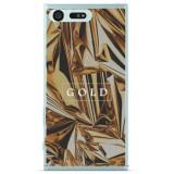 Husă Gold Sony Xperia X Compact, Silicon, Husa