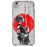 Husă Japanese Warrior Woman APPLE Iphone 5s / Iphone SE, Silicon, Husa