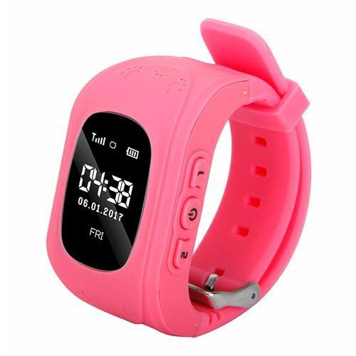 Ceas copii cu telefon si GPS tracker - smart watch Q50 foto mare