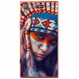 Husă Native Indian Girl Sony Xperia Xz1 Compact, Alta, Silicon, Husa