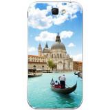 Husă Venetian Water SAMSUNG Galaxy Note 2, Silicon, Husa