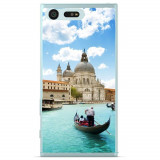 Husă Venetian Water Sony Xperia X Compact, Silicon, Husa