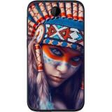 Husă Native Indian Girl HTC Desire 310, Alta, Silicon, Husa