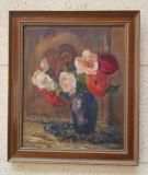Tablou de Colectie Vera Veslovschi Nitescu, Natura statica, Ulei, Impresionism