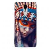 Husă Native Indian Girl LG K4 2017, Alta, Silicon, Husa