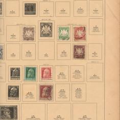 Album SCHAUBEK+Clasor ROMANIA+peste 3000 buc. timbre stampilate diverse tari