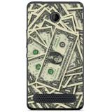 Husă Dollar Theme Sony Xperia E1 D2004, Alta, Silicon, Husa