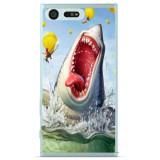 Husă Funny_shark Sony Xperia X Compact, Silicon, Husa