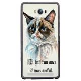 Husă Grumpy Cat ASUS Zenfone Max Zc550kl, Silicon, Husa