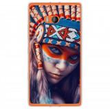 Husă Native Indian Girl Nokia Lumia 930, Alta, Silicon, Husa