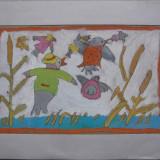 Autom 1 - semnat  Adorian Elena 1999, Abstract, Guasa, Altul