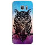 Husă Black Owl SAMSUNG Galaxy S7 Edge, Silicon, Husa