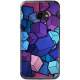 Husă 3d Cubes Samsung Galaxy Xcover 4, Silicon, Husa