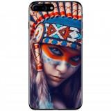 Husă Native Indian Girl APPLE Iphone 8 Plus, Alta, Silicon, Husa