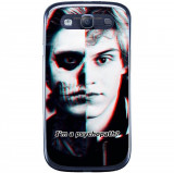 Husă Psychopath Samsung Galaxy S3 Neo I9301 S3 I9300, Silicon, Husa