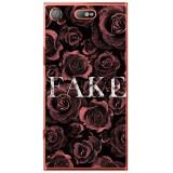 Husă Fake Rose Sony Xperia Xz1 Compact, Alta, Silicon, Husa
