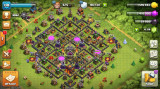 Cont Clash Of Clans, TH10, LVL 138, 4100 gems