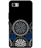Husă Vera Bradley Art White Blue Dark ASUS Zenfone 3 S Max Zc521tl, Silicon, Husa