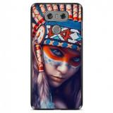 Husă Native Indian Girl LG G6, Alta, Silicon, Husa