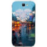 Husă Rainy Day SAMSUNG Galaxy Note 2, Silicon, Husa