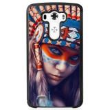 Husă Native Indian Girl LG G4, Alta, Silicon, Husa